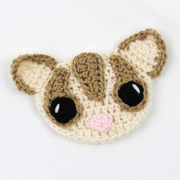 Sassy the Sugar Glider Applique Free Crochet Pattern