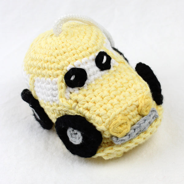 Caleb the Car Crochet Pattern