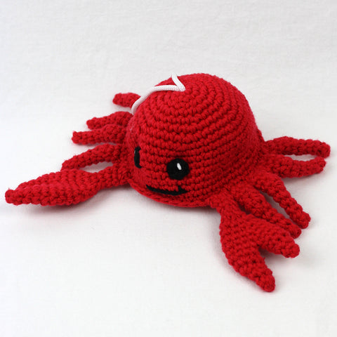 Clippy the Crab Crochet Pattern
