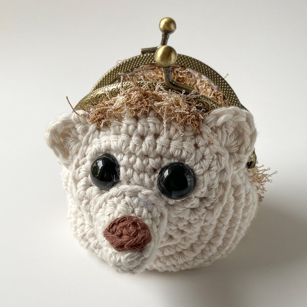 Harlow the Hedgehog Coin Purse Crochet Pattern