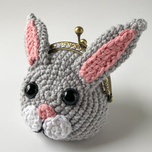 Bitsy the Bunny Coin Purse Crochet Pattern
