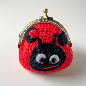 Lacey the Ladybug Coin Purse Crochet Pattern
