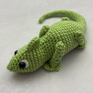 Clyde the Chameleon Free Crochet Pattern