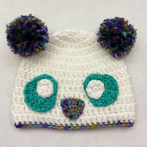 Paula the Panda Beanie Free Crochet Pattern