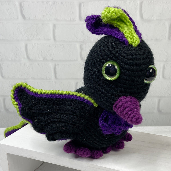 Ashley the Phoenix Amigurumi