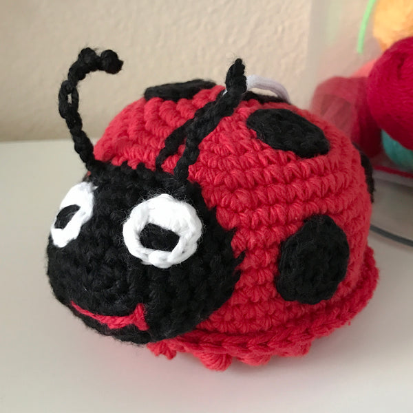 Lacey the Ladybug Crochet Pattern