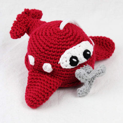 Aiden the Airplane Crochet Pattern