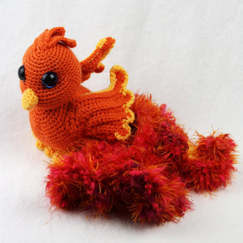 Ashley the Phoenix Crochet Pattern