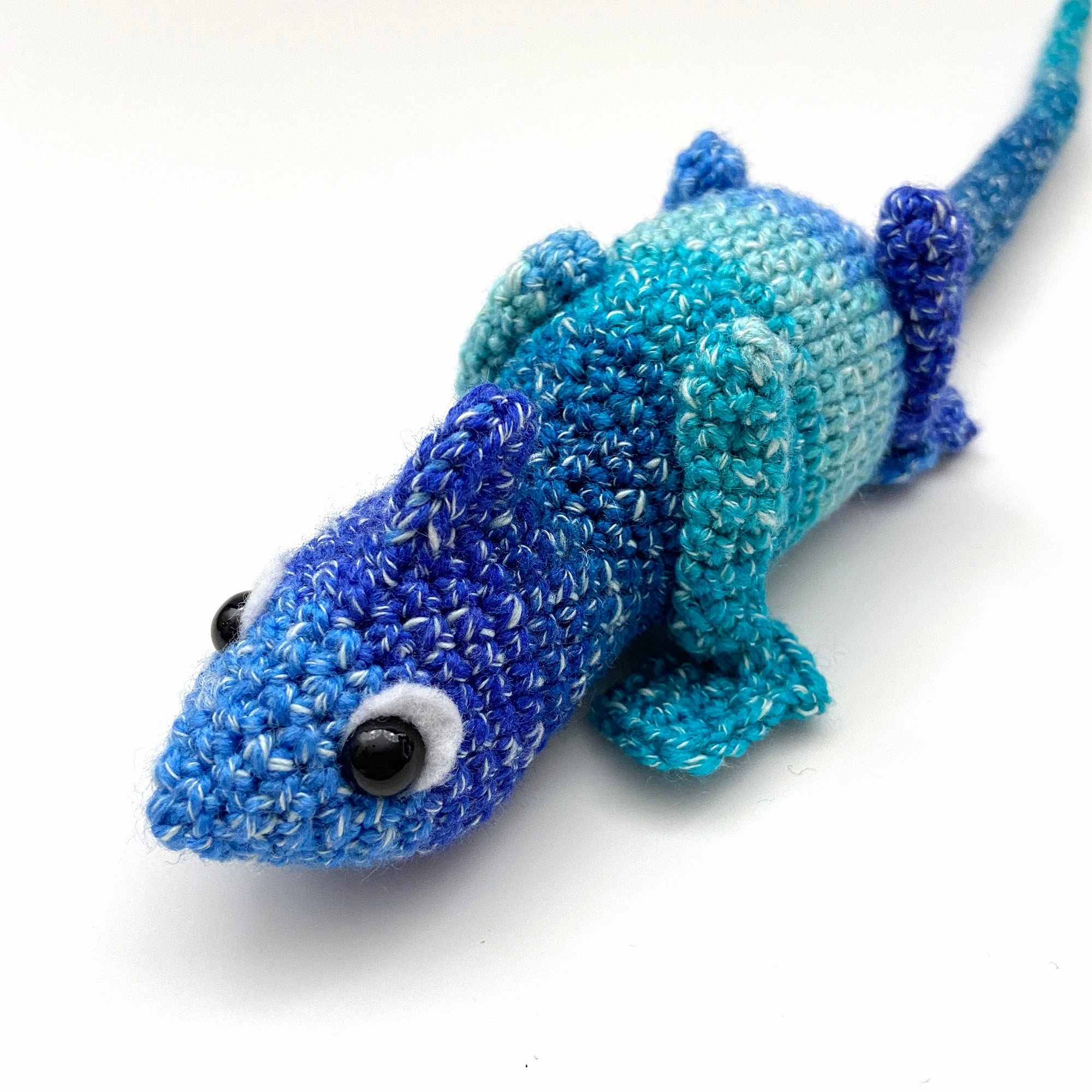 Blue Raspberry Clyde the Chameleon