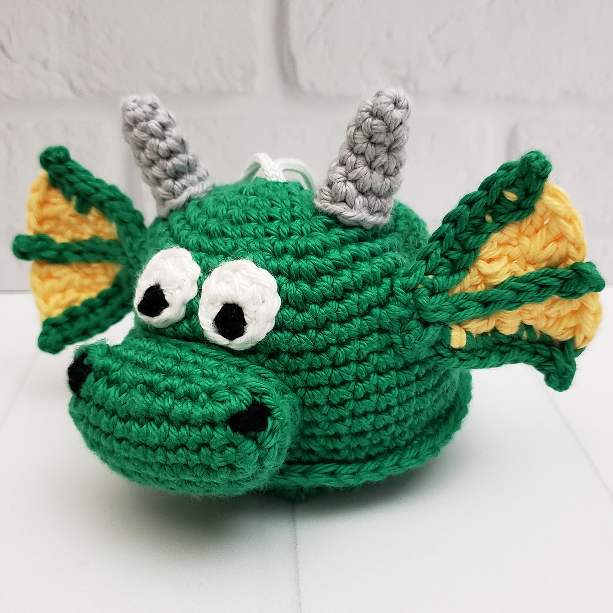 Draco the Dragon Crochet Pattern