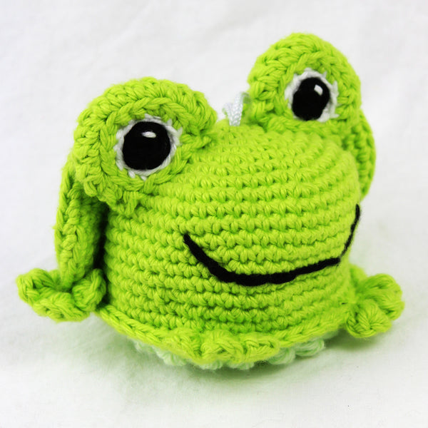 Freya the Frog Crochet Pattern