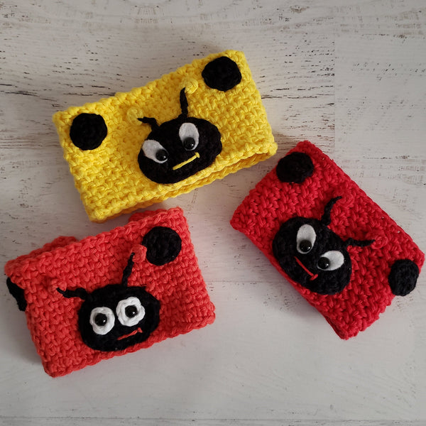 Lacey the Ladybug Cozy Crochet Pattern