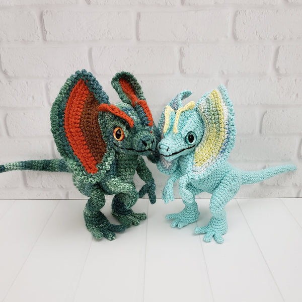 Dexter the Dilophosaurus Crochet Pattern