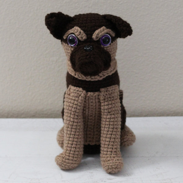 Grumps the Brussels Griffon Crochet Pattern