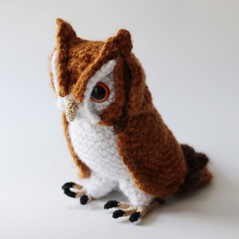 Screech the Owl Crochet Pattern