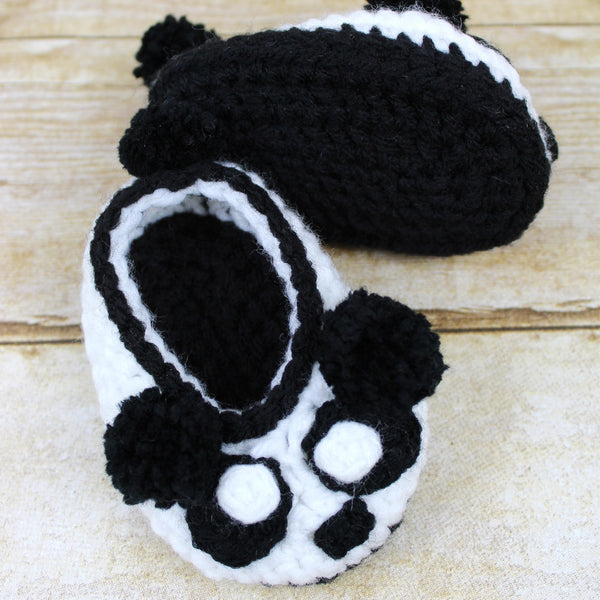 Cuddle Bear Child Size Slipper Crochet Pattern
