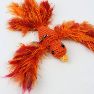 Ashley the Phoenix Keychain