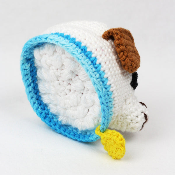 Paulie the Puppy Scrubby Amigurumi Crochet Pattern