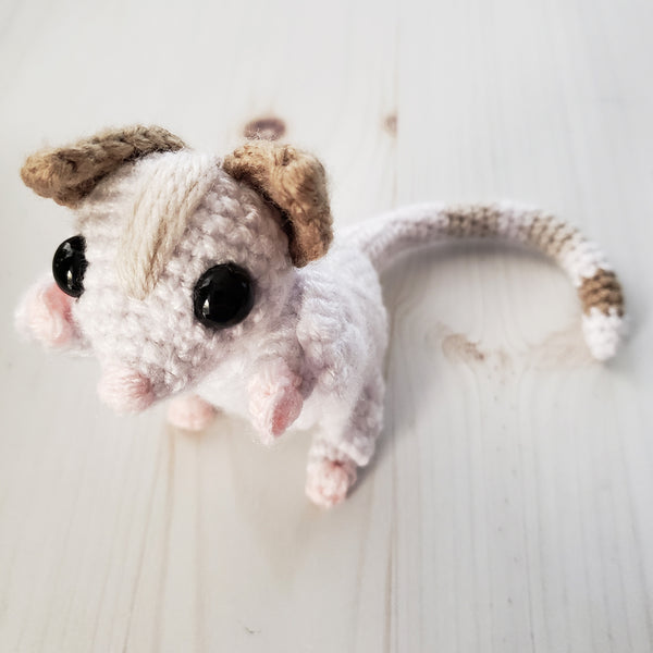 Sassy the Sugar Glider Crochet Pattern