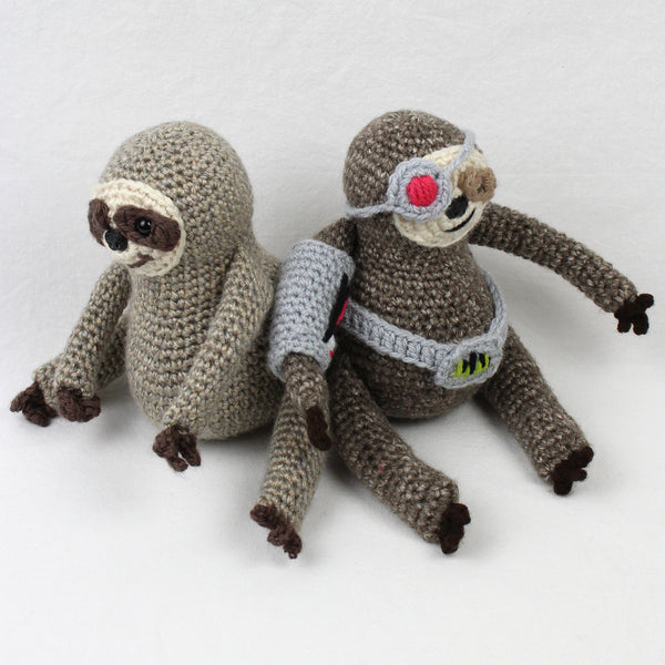 Samson the Cyborg Sloth Crochet Pattern