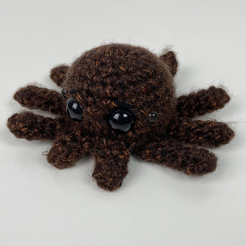 Tiny Spider Amigurumi Friends