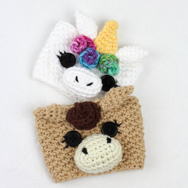 Sugar the Unicorn & Spice the Horse Cozy Crochet Pattern