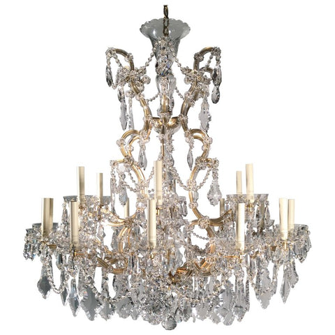 Bohemian  Marie-Therese 19-Light Chandelier