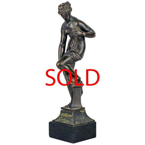 Grand Tour Bronze of Venus after Giambologna