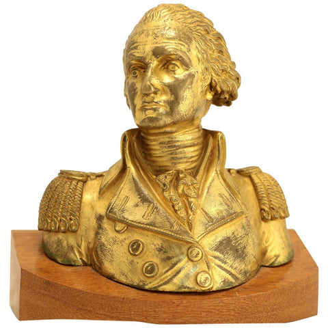 Gilt Bronze Bust of George Washington