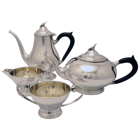 Poul Petersen Four Piece Sterling Tea and Coffee Service
