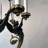 Empire Style Bronze Chandelier