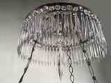 Neoclassical Style Chandelier, in the Baltic Taste, Custom-Made