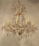 Large 20th Century Marie-Therese Chandelier