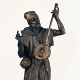 French Spelter Figure of an Arab Street Musician