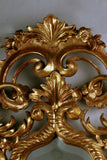 Pair of Italian Giltwood Rococo Mirrors
