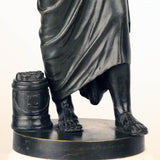 After the Antique, Grand Tour Bronze of Aristotle