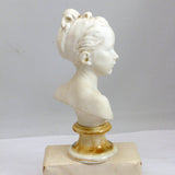 Sevres Porcelain Bust, after Houdon