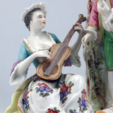 Meissen 19th Century Porcelain Figural Group