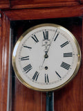 Biedermeier Regulator Longcase Clock in Fruitwood Case