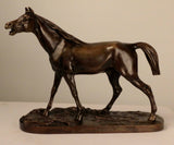 Bronze Figure of an Arab Horse Signed by Pierre Jules Mêne