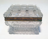 French Cut Lead Crystal Dresser Box