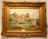 "Henry J S Stannard ""Near Kimbarton"" and ""In a Hampshire Garden"", Pair"