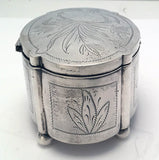 Polish Silver Etrog Box