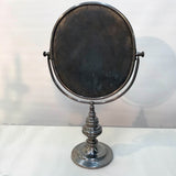 Silver Plate Vanity or Shaving Mirror