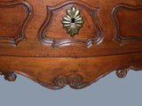 Louis XV Period Provincial Walnut Serpentine Commode