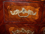 Louis XV Period  Kingwood and Marquetry Commode by Jean-Francois Hache