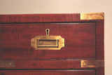 Campaign Chest with Fitted Drawer