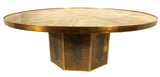 Chan Bronze Coffee Table by Philip & Kelvin LaVernele