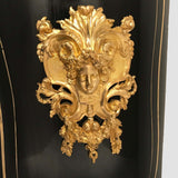 French Boulle and Ebonized Meuble d'Appui