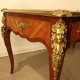 Antique Louis XV Style Kingwood Bureau Plat